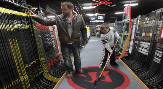 Хоккейная форма из Америки