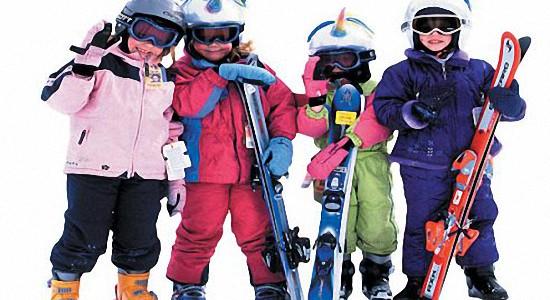 Горные лыжи для детей