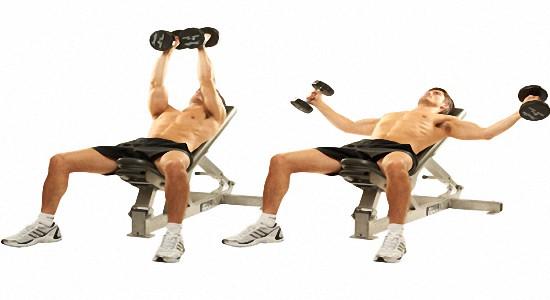 Эффективные упражнения с гантелями для груди
