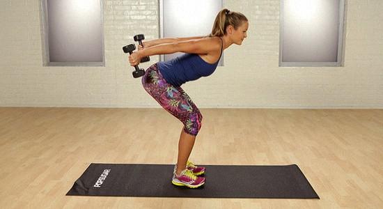 Эффективные упражнения с гантелями для похудения