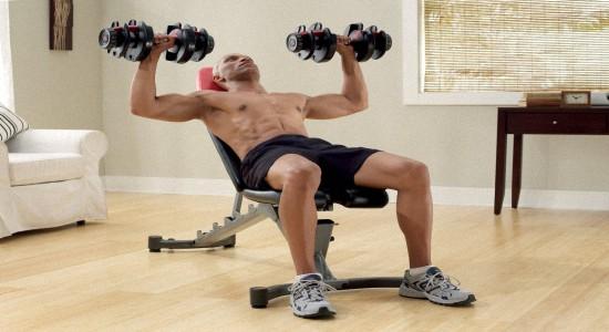 Лучшие упражнения гантелями в домашних условиях
