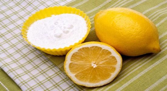 Отбеливание зубов содой и лимоном